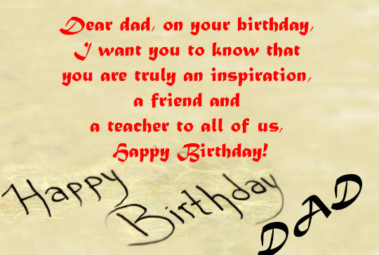 Birthday Wishes For Dad - Top 25+ Wishes for Dad