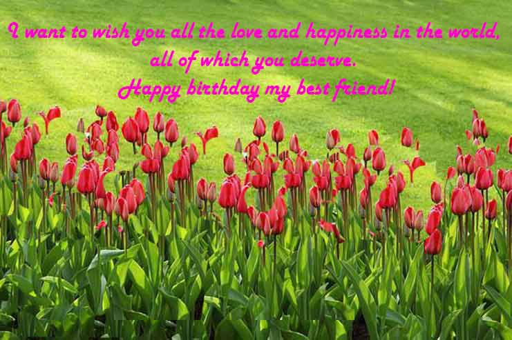 happy birthday wishes images for friend,