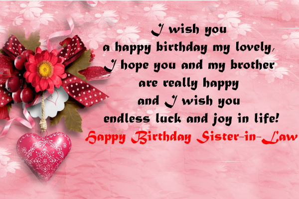 Birthday Wishes For Sister.Birthday Wishes For Sister In Law Heart Touching Happy