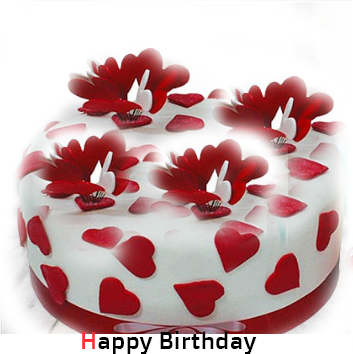 Happy Birthday cake photo wallpapers pics images pictures pics in hd with a name for lover