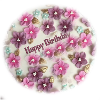 Happy Birthday cake photo wallpapers pics images pictures pics in hd with a name for sister