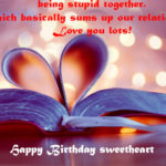Birthday wishes for boyfriend Romantic & Sweet