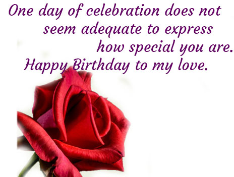 lovely birthday wishes for girlfriend