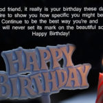 Happy birthday message for best friend