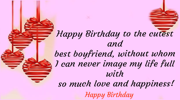 Birthday wishes for boyfriend long distance