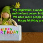 25 Best Birthday wishes for grandmother in hindi - Granny Happy Birthday