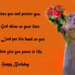 Christian birthday wishes - Religious wishes