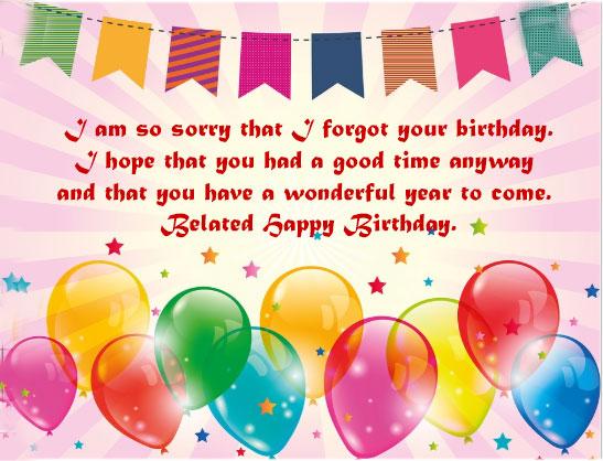 99 Best Belated Happy Birthday Wishes To Special Someone Happy Birthday Img