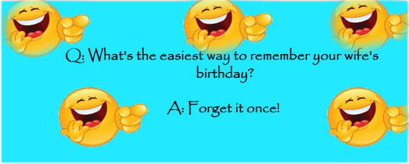 Funny birthday Jokes in English