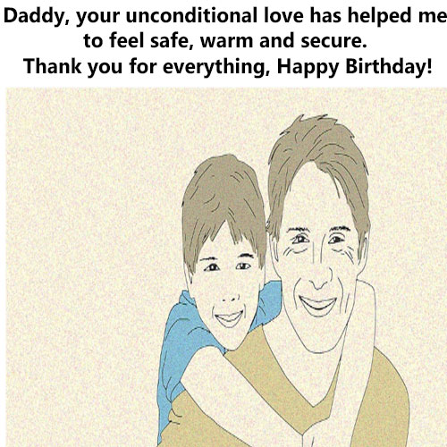 Happy birthday dad photo with messages fordownload