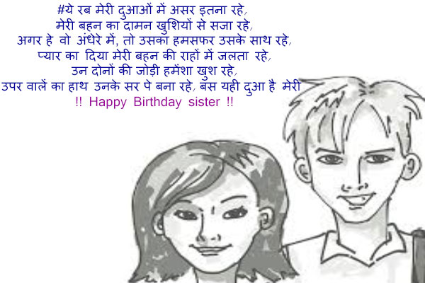 Birthday-status-for-sister-in-hindi