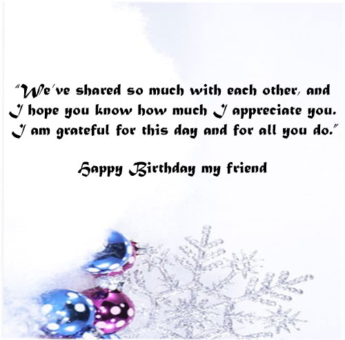 Birthday wishes with images for best friend