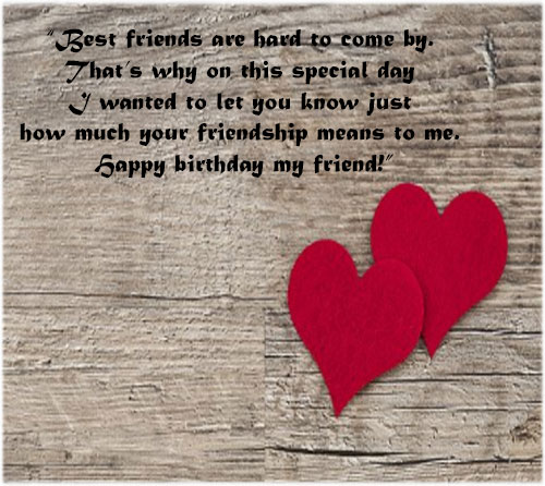 Happy birthday images for a best friend with messages hd download
