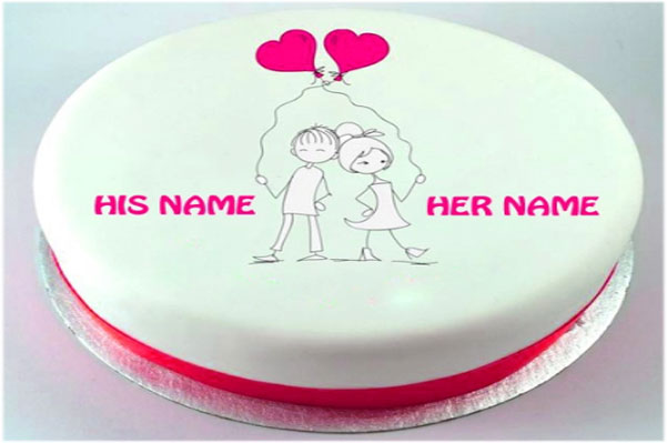 Cake for Lovers with pics Images Wallpaper Photo Pictures for download in hd