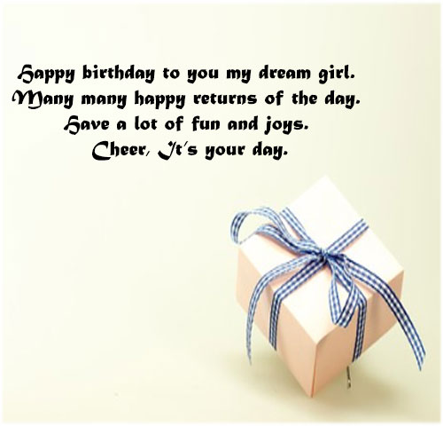 Birthday gift image pics for girlfriend lover