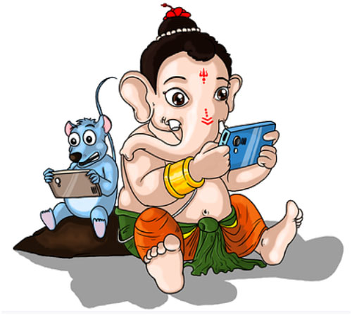 Lord Ganesha hd images for whatsapp