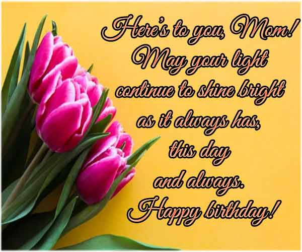Best quotes for mother birthday