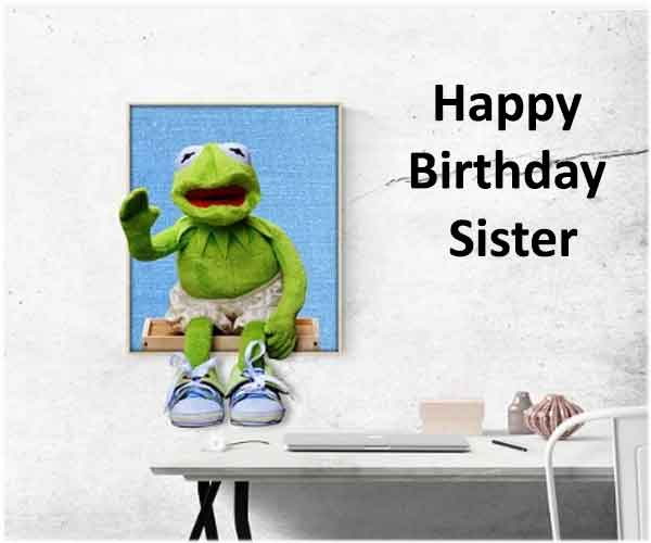 Funny Birthday Wishes For Younger Sister