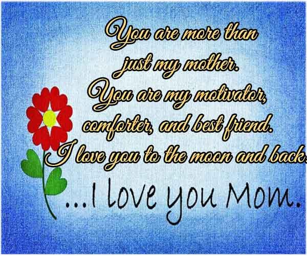 Happy Bday Mom Quotes