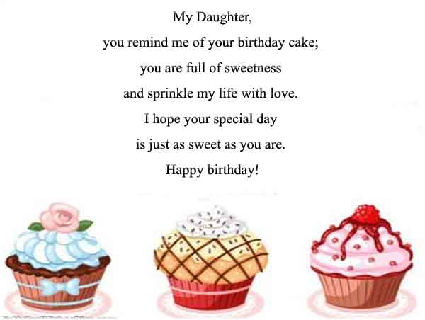Adorable Happy Birthday Wishes For Daughter