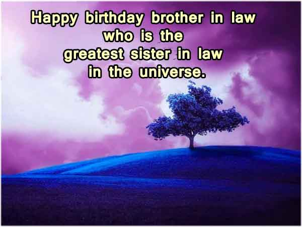 Funny Birthday Wishes for Brother-In-Law
