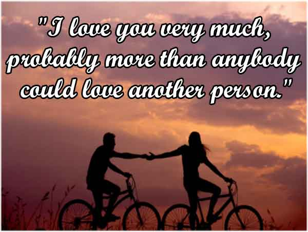 I love you so much quotes for him