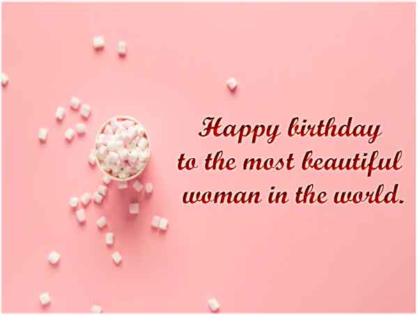 Birthday Wishes for Female