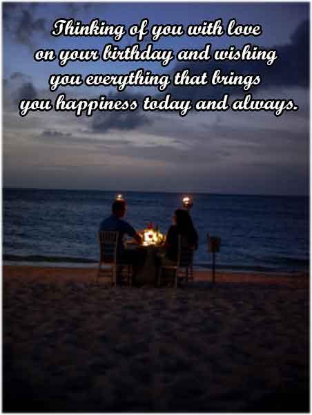 RomanticBirthday Wishes