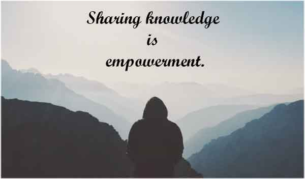 quotes on knowledge sharing